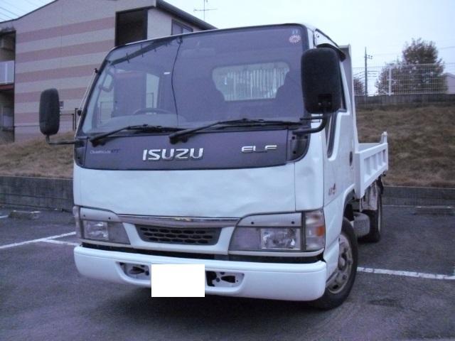 いすゞ エルフトラック ダンプ 2トン全低床 フル装備 NOX適合...