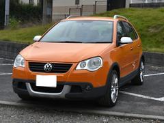 VW ポロクロスポロ 純正17AW 純正HDDナビ フル装備