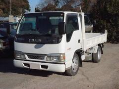 エルフトラック4.8D 2t低床ダンプ フル装備 荷台塗装サービス