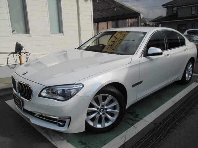 BMW 7シリーズ 740i ワンオーナー 純正ナビ&フルセグ シ...