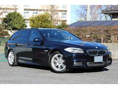 BMW528iワゴンMスポーツ 直6 パノラマSR 本革シート
