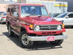 ランドクルーザー70LX ナロー 4ナンバー ユーザー買取車両