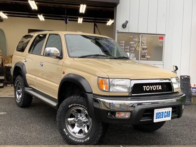 トヨタ SSR-V リフトアップ 新品16インチ TOYOTAグリル