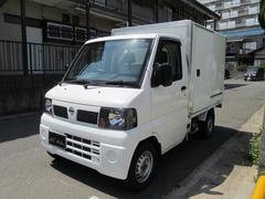 クリッパートラック冷凍冷蔵車 4WD −5℃ 禁煙車