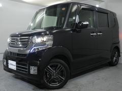 N BOX+カスタムG・ターボPKG 無限アルミ 禁煙ガレージ保管 保証継承