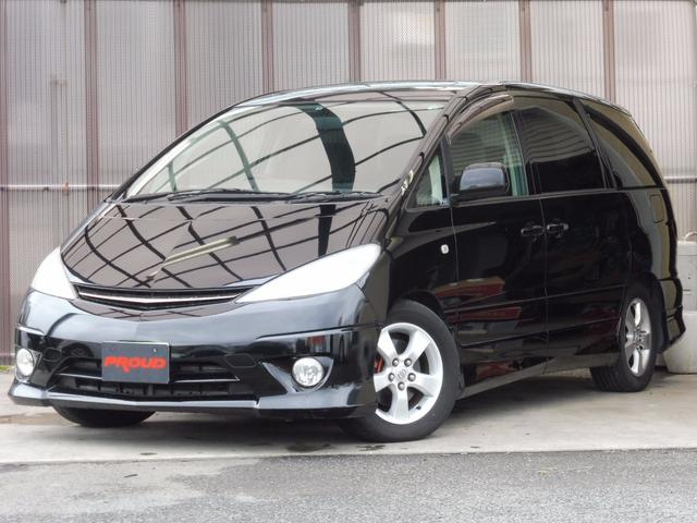 トヨタ アエラス 後期型  HDDナビ Wサンルーフ 両側パワスラ