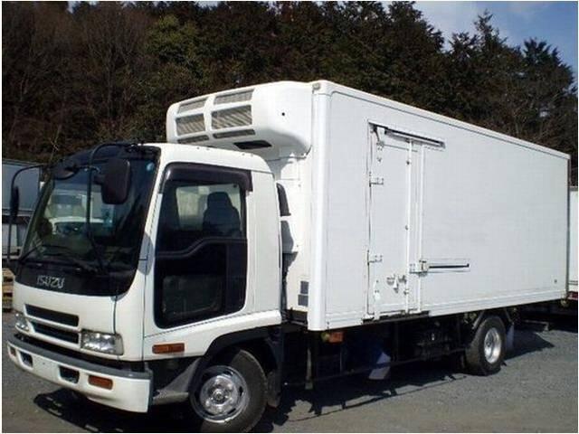 いすゞ 冷凍車 冷蔵車 保温車 中温 二室二層 4t 4トン 加温機