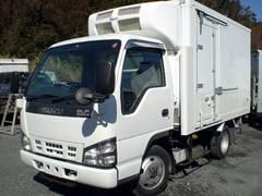 エルフトラック冷凍車 冷蔵車 四駆 4WD 10尺 ショート 二室 二層