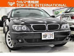BMW740iコンフォートP左黒革SRHDDスタースポーク19AW
