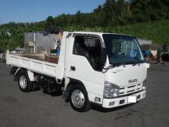 エルフトラック強化3方開ダンプ 積載2トン 全低床 車両総重量4855Kg