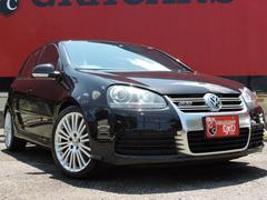 VW ゴルフ R32 純正HDDナビ 黒革 HID(フォルクスワーゲン)