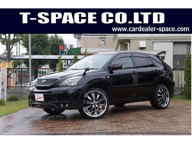 トヨタ 300G Lパッケージ 4WD エアロ 22AW 黒革シート