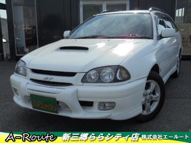 トヨタ GT-T 社外DVDナビ 純正エアロ ステアシフト キーレス