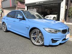 BMWM3セダン ワンオーナー 屋内保管 新車保証付 走行0.3万