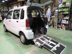 ワゴンR車椅子移動車 後部座席付仕様 タイミングチェーン