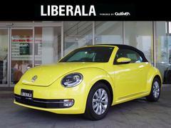 VW ザ・ビートル・カブリオレベースグレード 2015モデル ワンオーナー 黒革 ナビTV