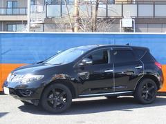ムラーノ250XL FOUR 4WD 黒革シート 20インチアルミ
