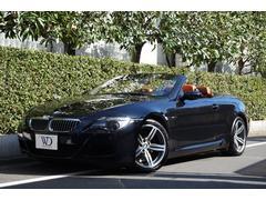 BMW M6カブリオレ 左H アズライトブラック テラコッタレザー