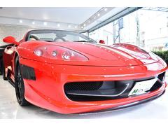 フェラーリ 360スパイダー正規D車 6速マニュアル ロベルタ車高調社外エアロ