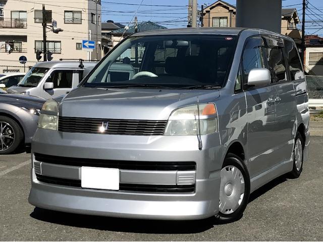 トヨタ ヴォクシー X フルエアロ 純正ナビ 回転シート キーレス...