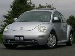 VW ニュービートルベースグレード ブラックレザーシート サンルーフ 純正アルミ
