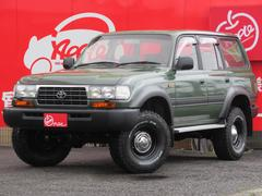 ランドクルーザー80VX−LTD 後期DT 3インチUP 新品AW 新品タイヤ