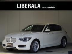 BMW116i ファッショニスタ 限定車 ベージュ革 HDDナビ