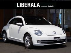 VW ザ・ビートルデザインレザーパッケージ 純正ナビ 黒革シート サンルーフ