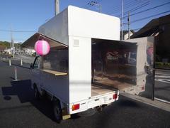 ハイゼットトラック移動販売車 荷台ステンレス張り