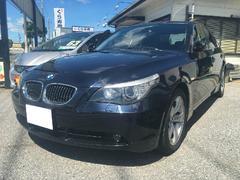 BMW525iハイラインパッケージ サンルーフ 右ハンドル ナビ