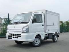 キャリイトラック 移動販売冷凍車 中温 2WD AT 大型ショーケース 陳列棚(スズキ)