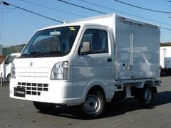 キャリイトラック保冷車 4WD MT 片側サイドスライドドア キーレス PW
