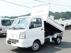 NT100クリッパートラック新明和強化ダンプ 電動油圧式 4WD MT