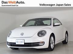 VW ザ・ビートルデザインレザーPKG 純正ナビ ワンオーナー 認定中古車