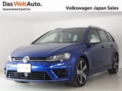 VW ゴルフRヴァリアントトラフィックアシスト搭載モデル 当社試乗禁煙使用認定中古車