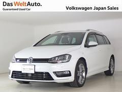 VW ゴルフヴァリアントRライン 有償OP色 純正ナビ ACC PDC 認定中古車