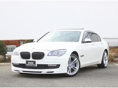 BMW740iMスポーツ LEDライトサンルーフ黒革Dアシスト