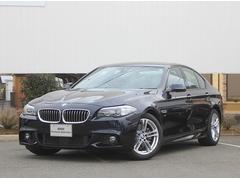 BMW523i Mスポーツ 弊社デモカー純正HDDナビ18AW