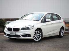 BMW218iアクティブツアラー ファッショニスタベージュ革LED