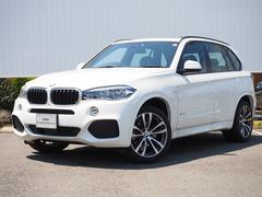 BMW X5xDrive 35d Mスポーツ 弊社デモカー黒革サンルーフ