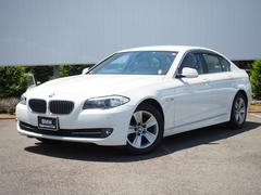BMW528i ベージュ革17AW純正HDDナビBカメラ6気筒EG