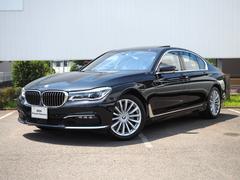 BMW740i プラスパッケージ茶革サンルーフ弊社デモカーACC