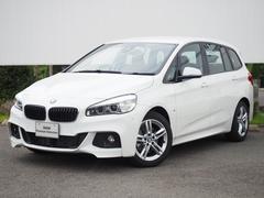 BMW218dグランツアラー Mスポーツ 黒革シート弊社デモカー
