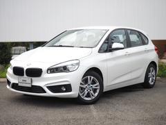 BMW218dアクティブツアラー LEDライト純正HDDナビSOS