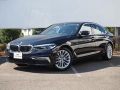 BMW523d ラグジュアリー 弊社デモカー黒革DアシストACC