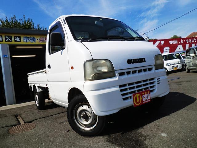 スズキ KU 4WD 5速マニュアル エアコン