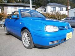 VW ゴルフカブリオレカラーコンセプト外ナビETCHID青黒コンビ革シートキーレス