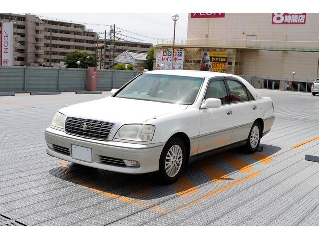 トヨタ ロイヤルサルーン 純正ナビ 15AW