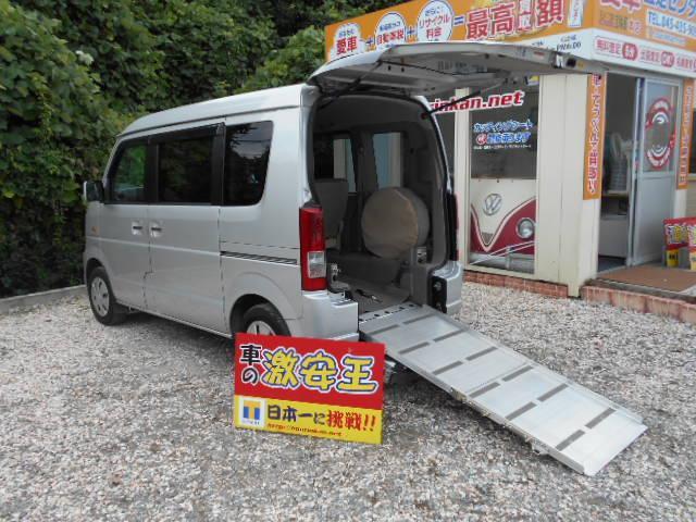 スズキ 車いす移動車 4人乗り スローパー 電動ウインチ付き 禁煙車