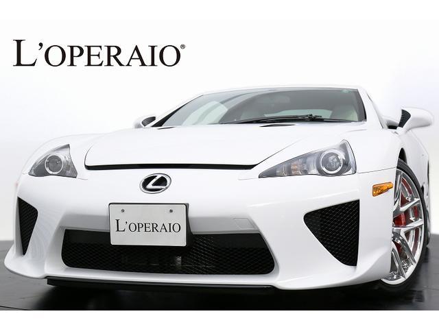レクサス LFA 国内200台 OP白革シート シートH カーボン...